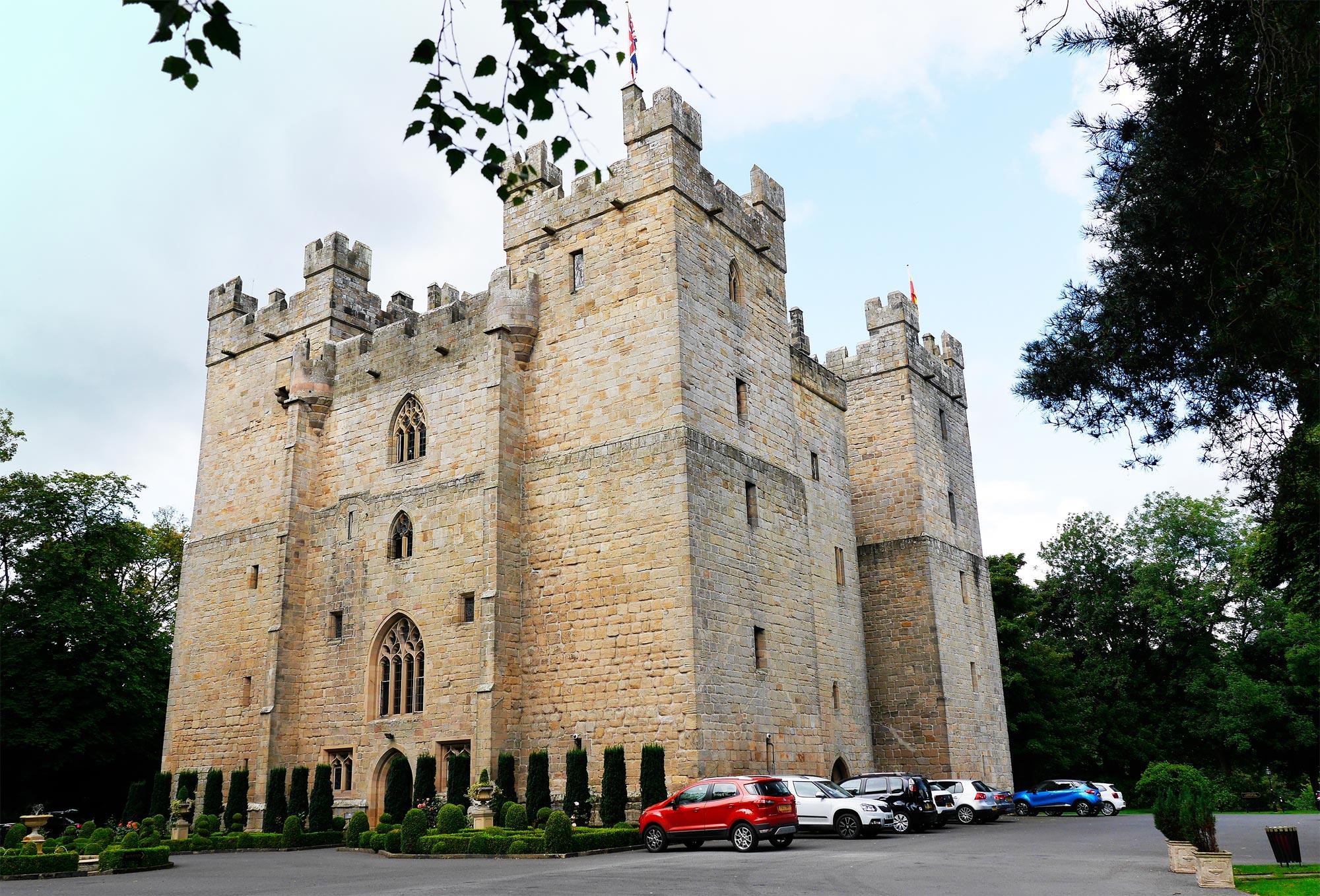 Langley Castle Northumberland
