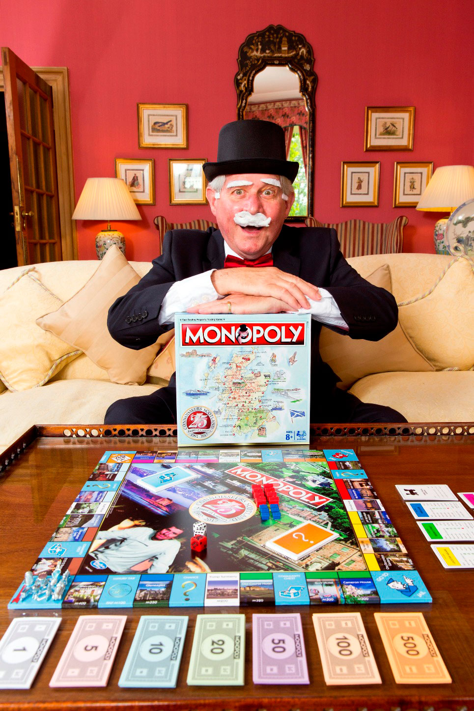 Scotland's Finest Properties Showcased on a Very Special Edition of Monopoly 4