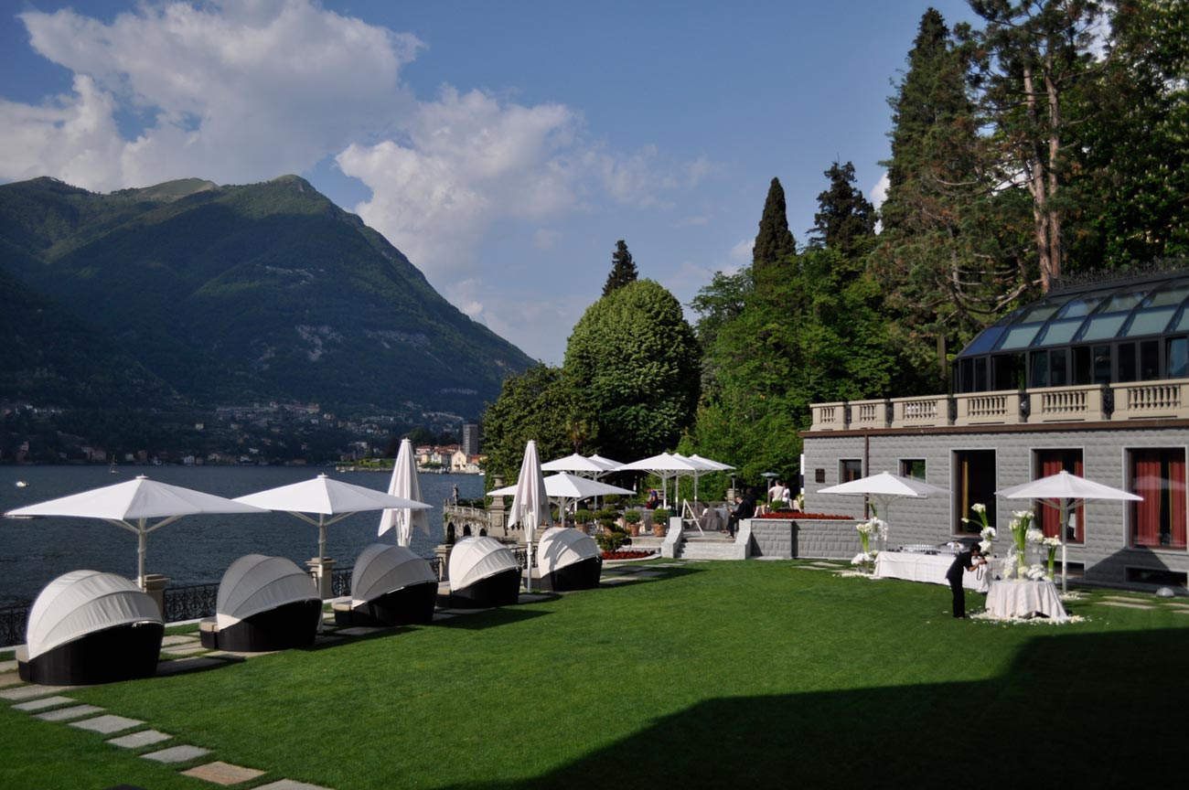 Experiencing lake como s five star casta diva resort spa - Casta e diva ...