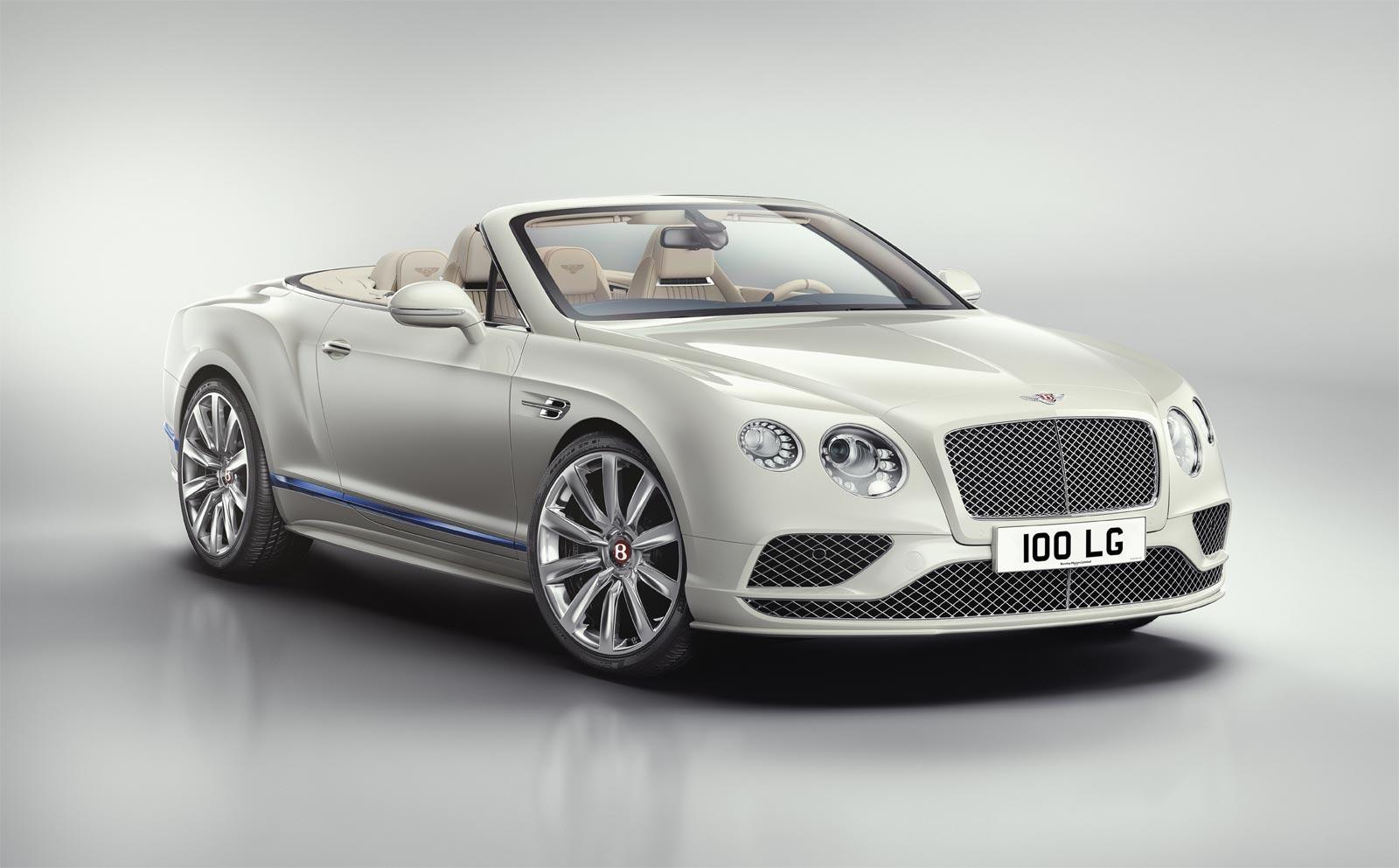 Bentley Motors and Princess Yachts Continental GT Convertible Galene Edition 6