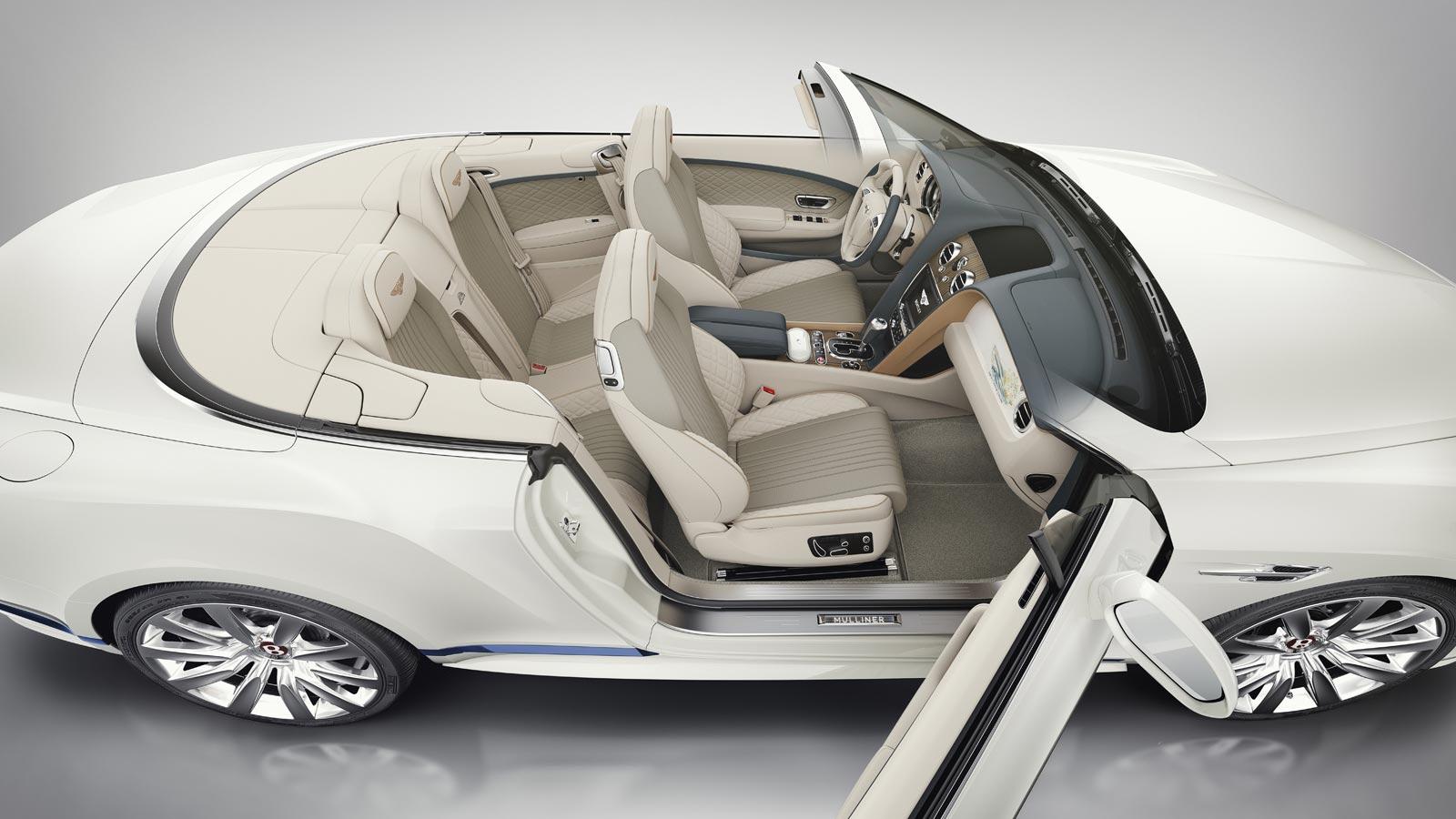 Bentley Motors and Princess Yachts Continental GT Convertible Galene Edition 8