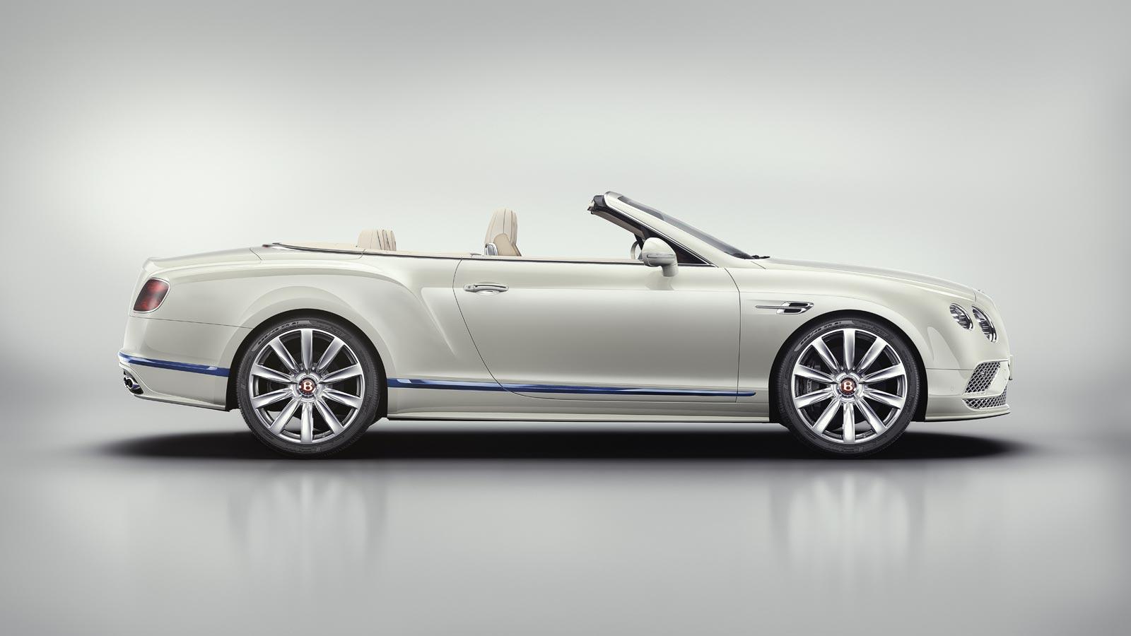 Bentley Motors and Princess Yachts Continental GT Convertible Galene Edition 7