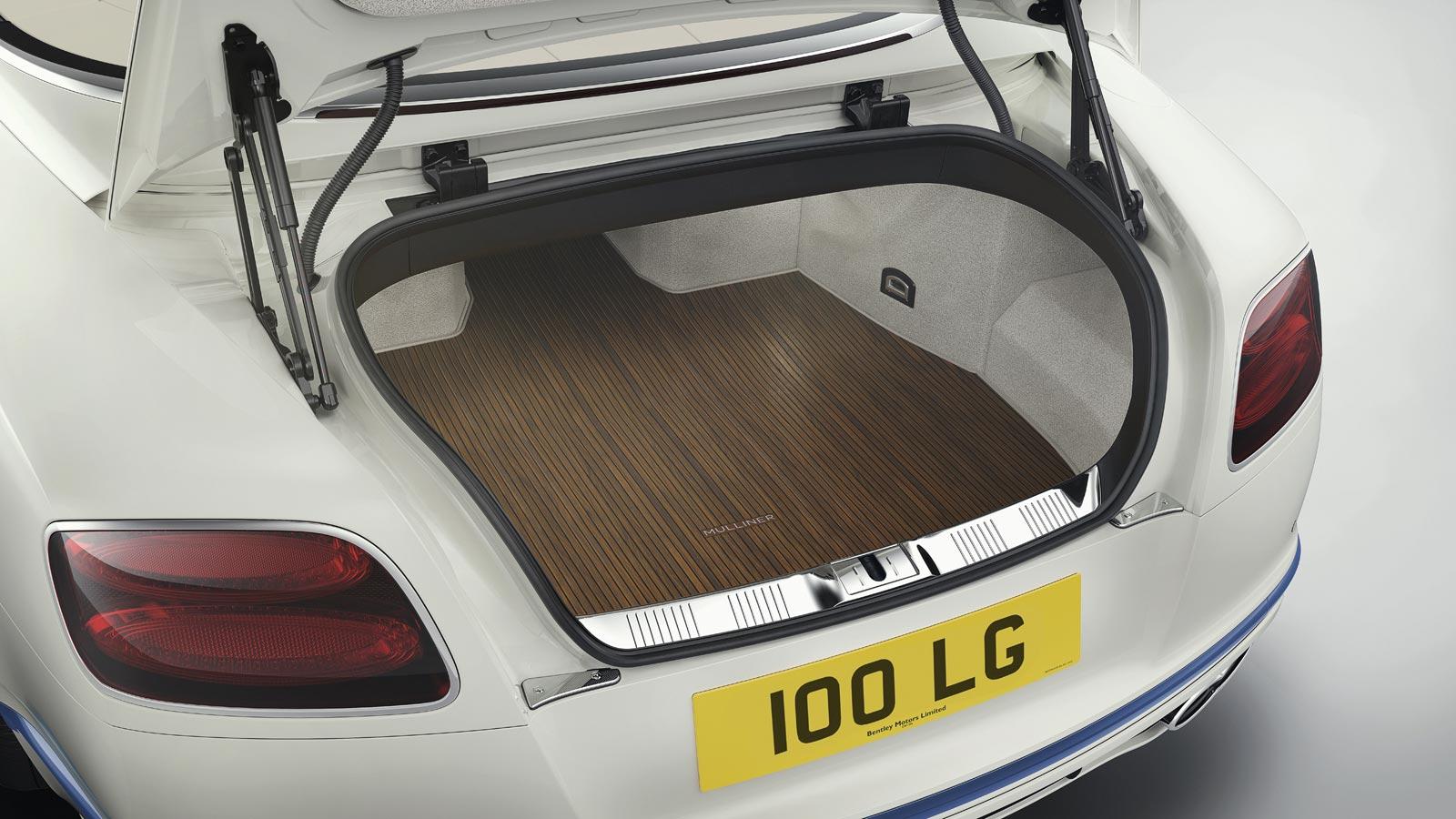 Bentley Motors and Princess Yachts Continental GT Convertible Galene Edition 10