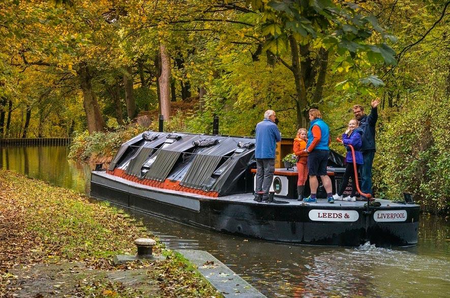 Dazzling Displays of Autumn on Britain's Best-Loved Waterways 4