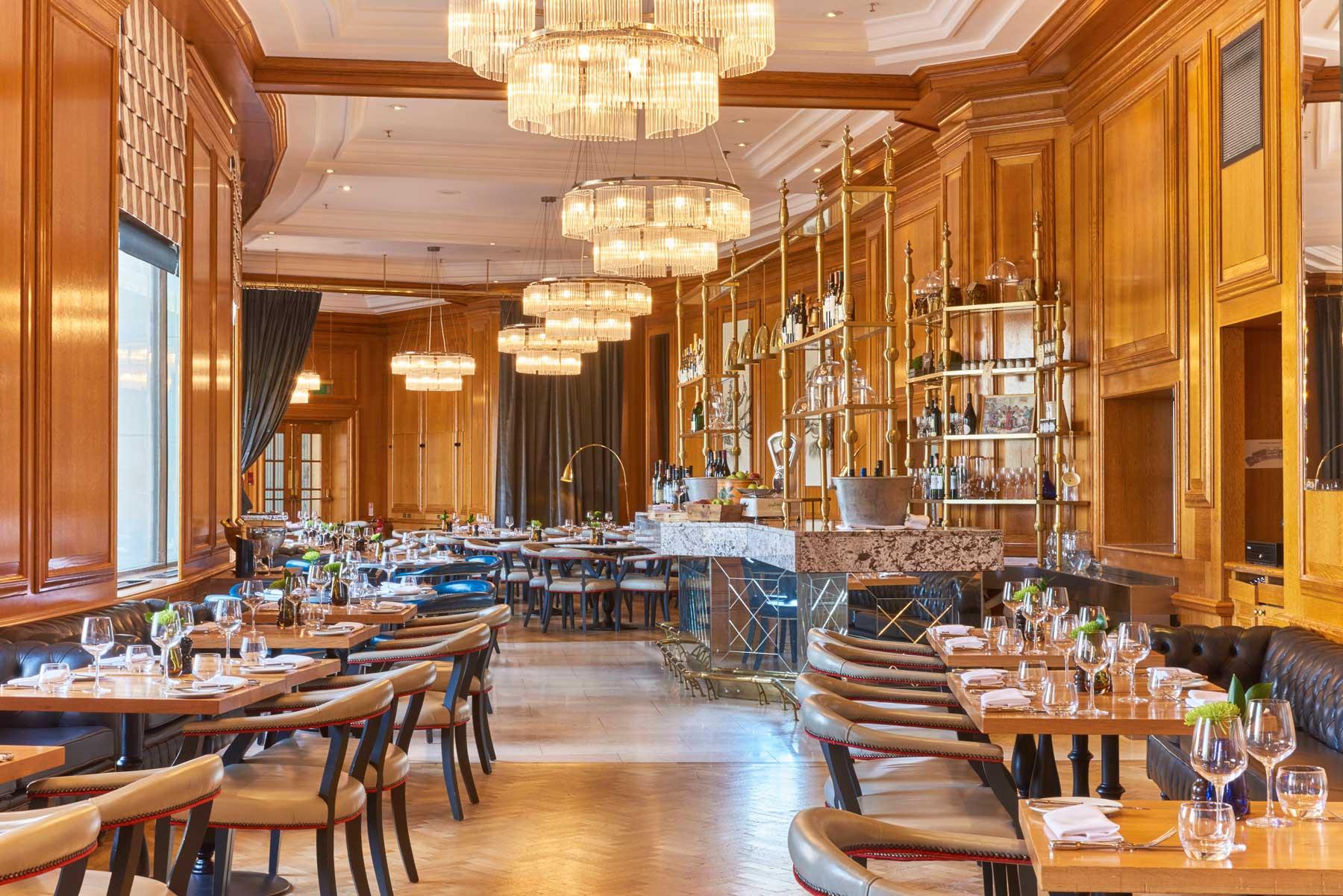 London Marriott Hotel County Hall Gillray's Restaurant