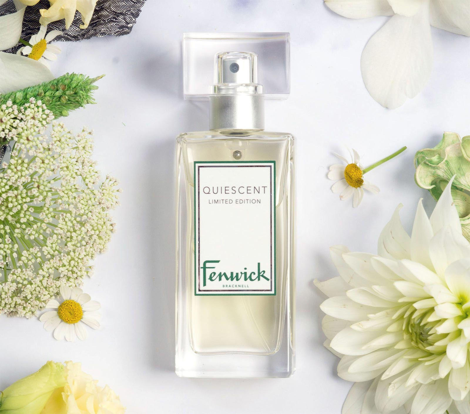 Fenwick Launches Quiescent Fragrance in Conjunction with New Bracknell Store 12
