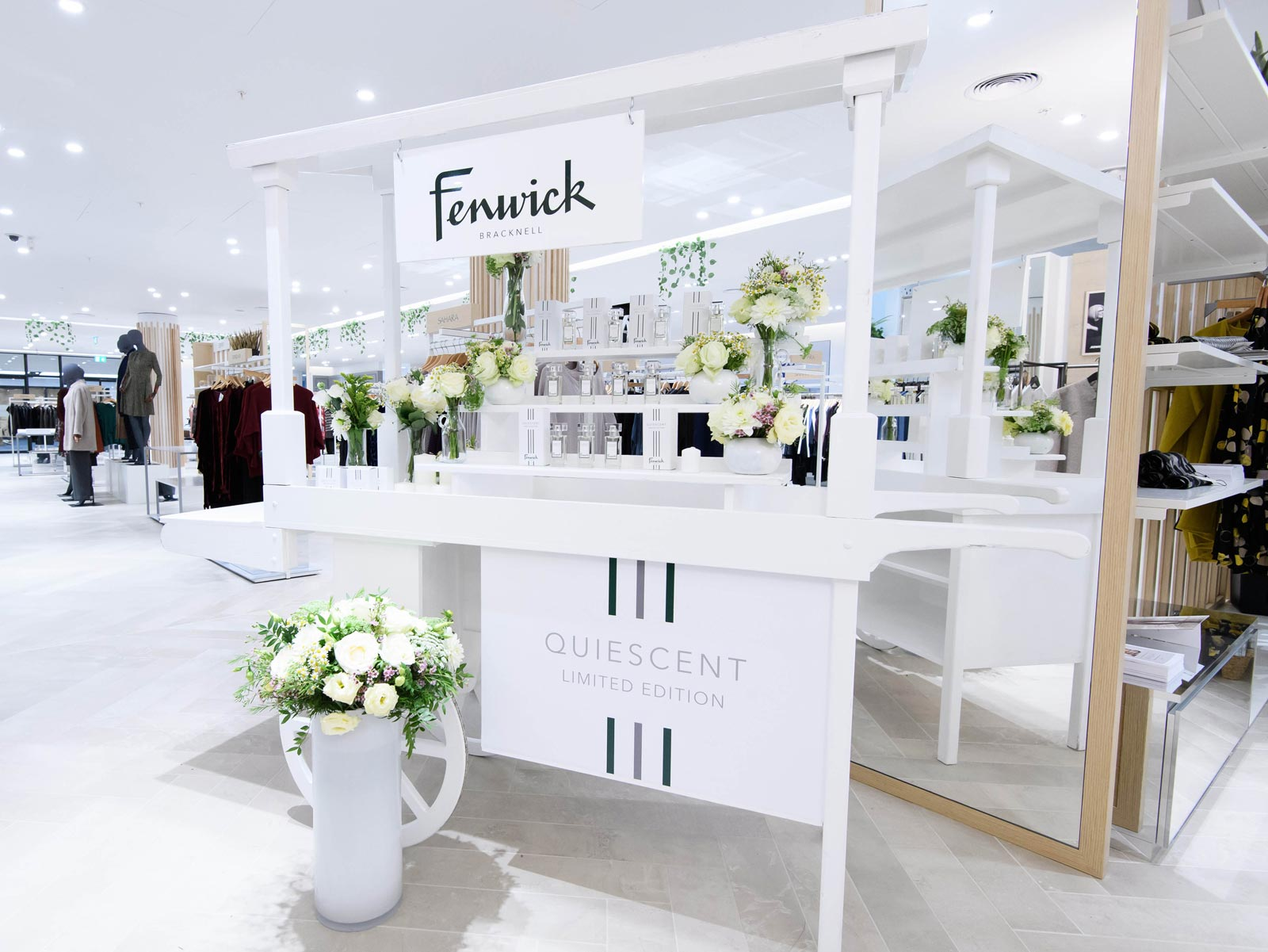 Fenwick Launches Quiescent Fragrance in Conjunction with New Bracknell Store 11