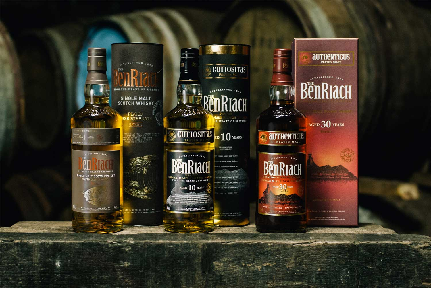 BenRiach Releases Rare Peated Speyside Authenticus 30 Years old 4