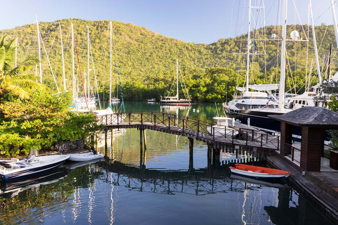A Luxurious Experience at the Marigot Bay Marina and Resort by Capella 6