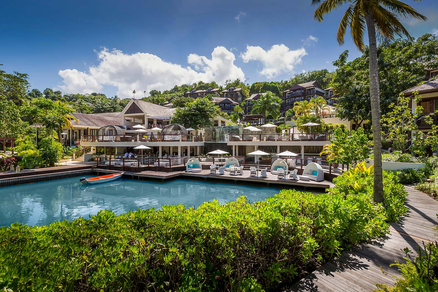 A Luxurious Experience at the Marigot Bay Marina and Resort by Capella 7