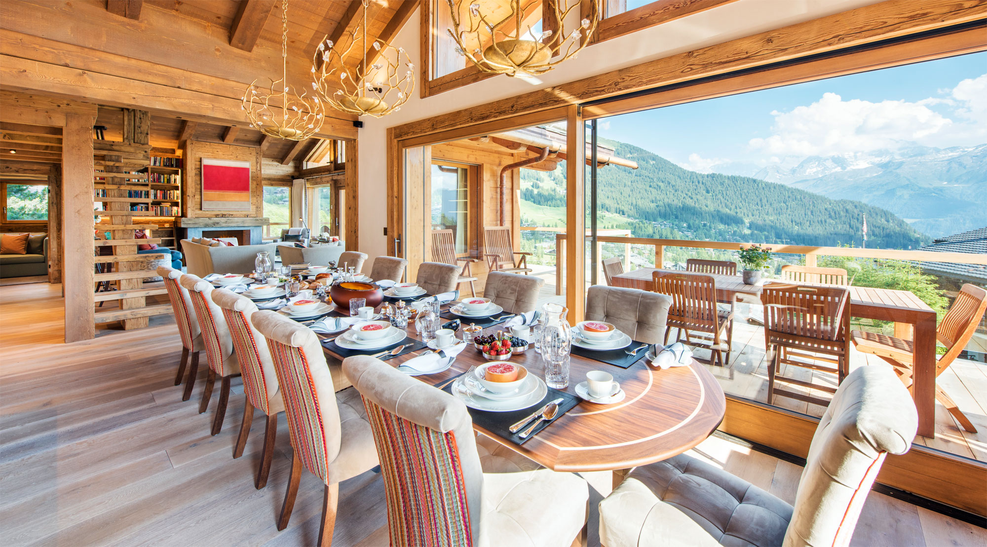 Nicola Hulbert Design Launches Luxurious Chalet Les Étrennes in Verbier