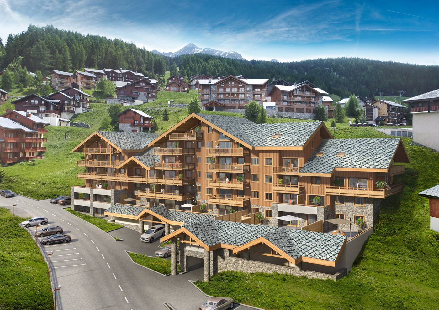 MGM French Properties Launches Boutique Development in Paradiski 5