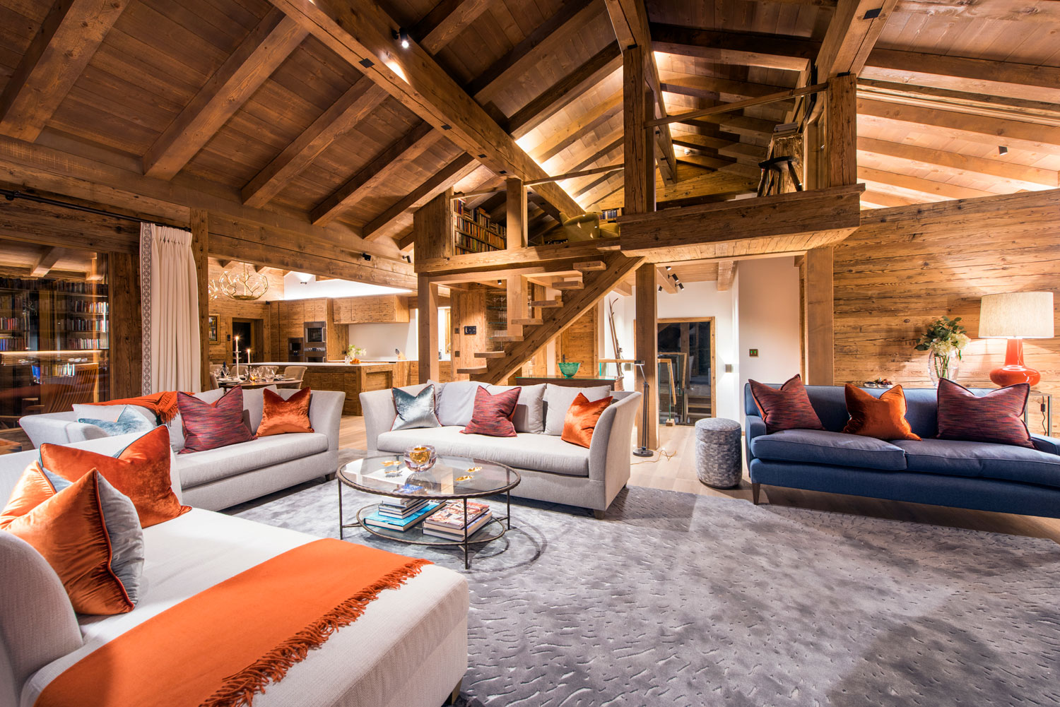 Nicola Hulbert Design Launches Luxurious Chalet Les Étrennes in Verbier 8