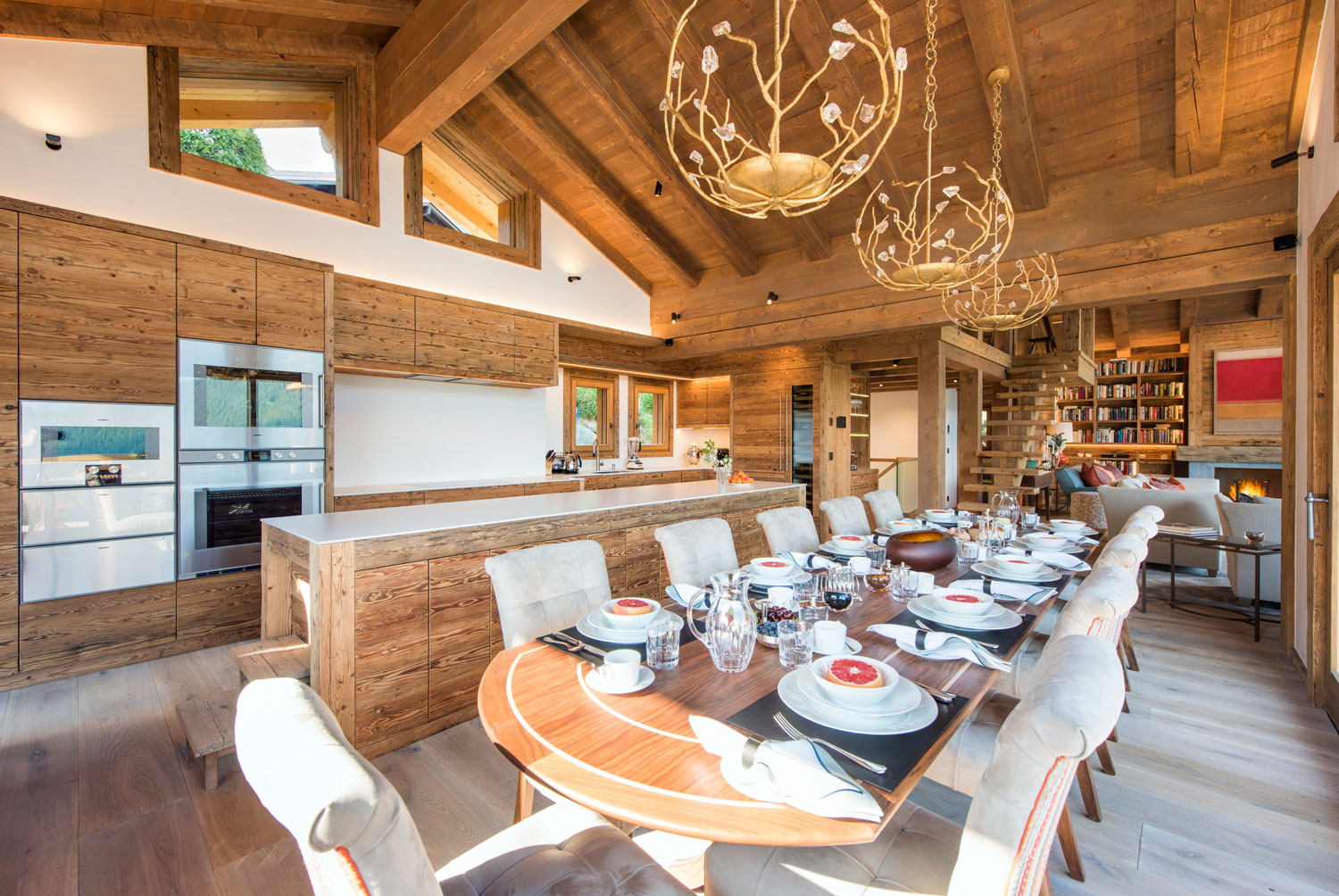 Nicola Hulbert Design Launches Luxurious Chalet Les Étrennes in Verbier 10