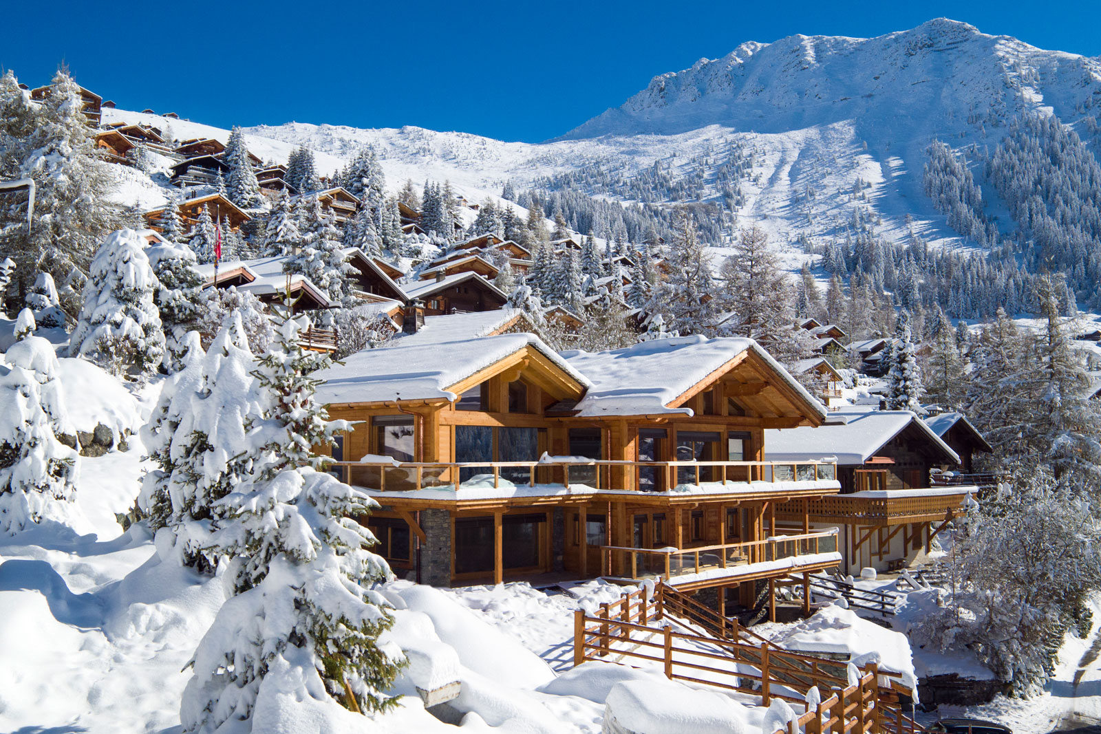 Nicola Hulbert Interior Design luxury chalet in Verbier