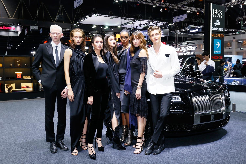 Rolls-Royce Inspires Vatanika Fashion Collection at Thai Motor Expo 9