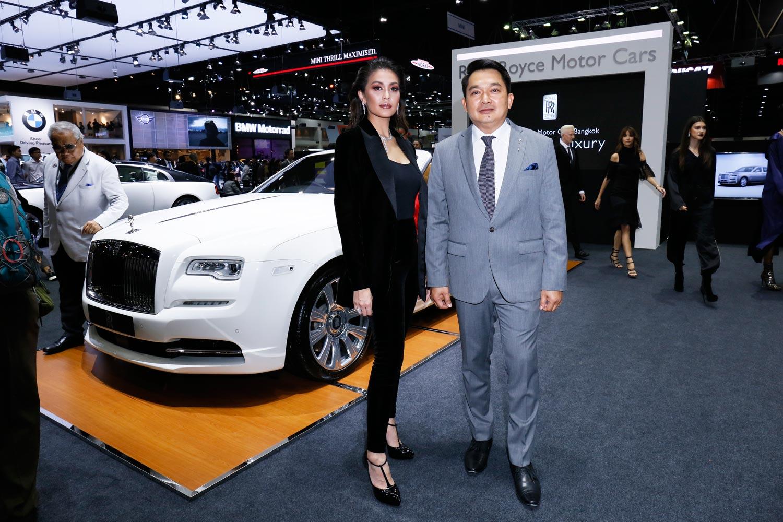 Rolls-Royce Inspires Vatanika Fashion Collection at Thai Motor Expo 14