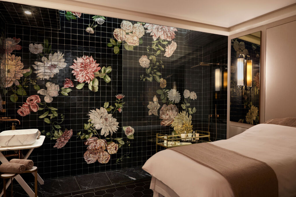 One of the beauty treatment rooms at Gazelli House