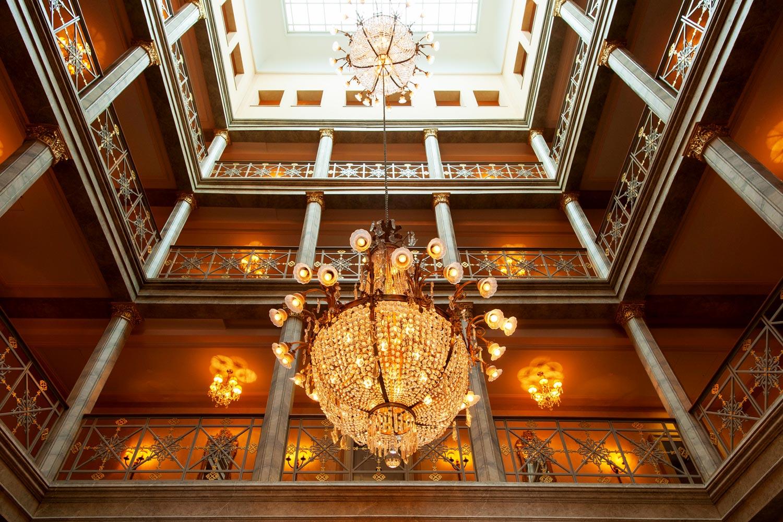 Gina Baksa enjoys Old World luxury at the Grand Hotel Les Trois Rois, Basel