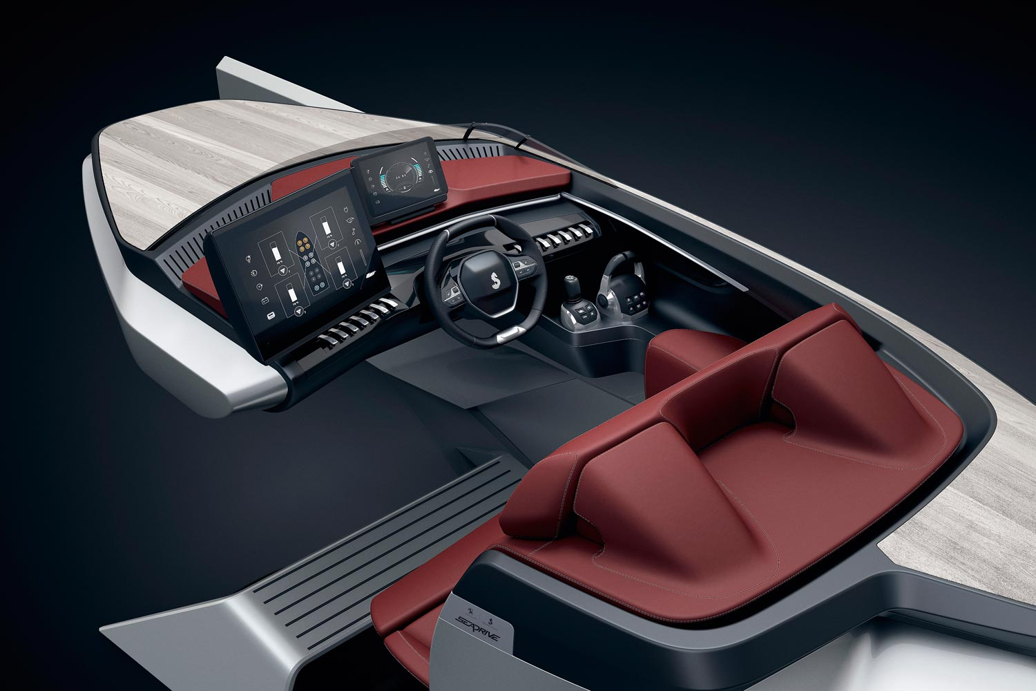 Sea Drive Concept Boat: A Combination of Peugeot and Beneteau Technology 8