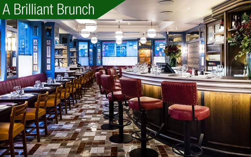 Review of the Ivy Cafe in Marylebone, London