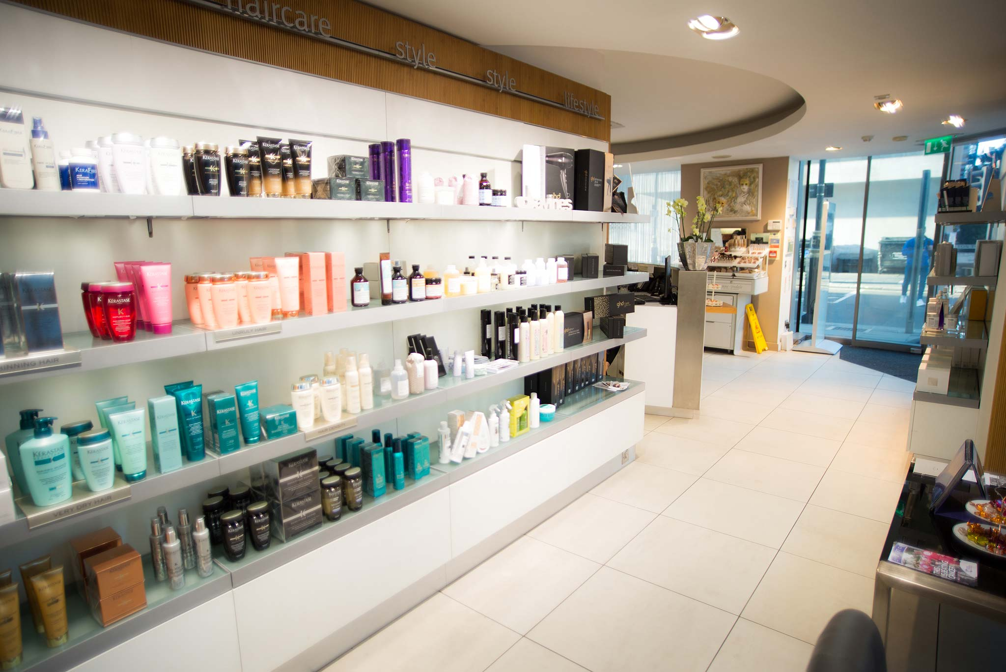 Inside Beauty & Melody in Marble Arch