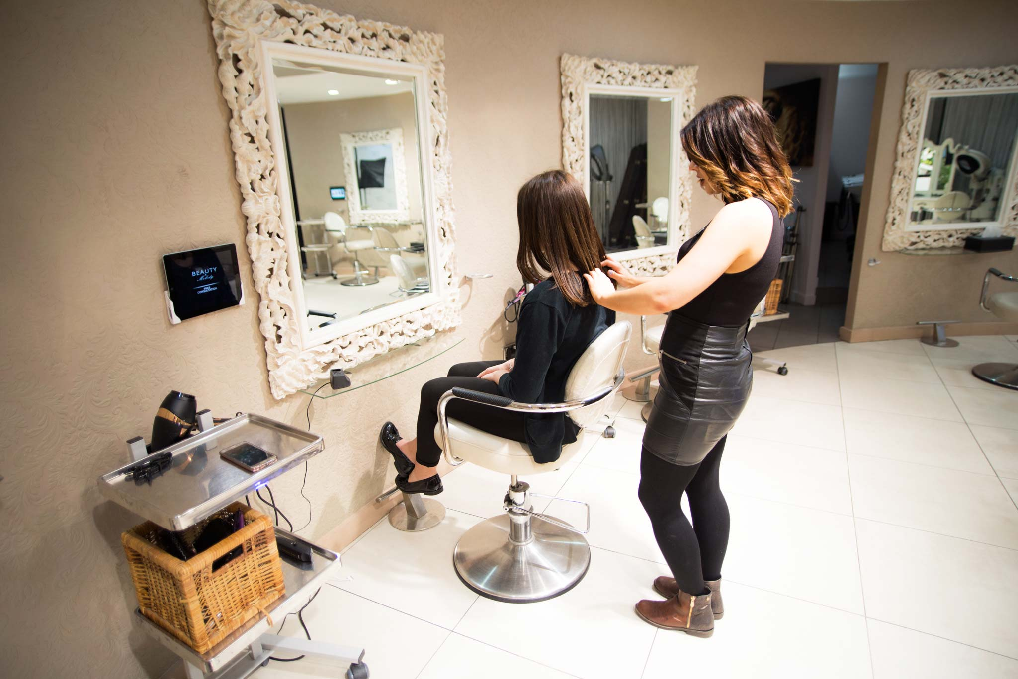 Hair extensions at Beauty & Melody in Marble Arch