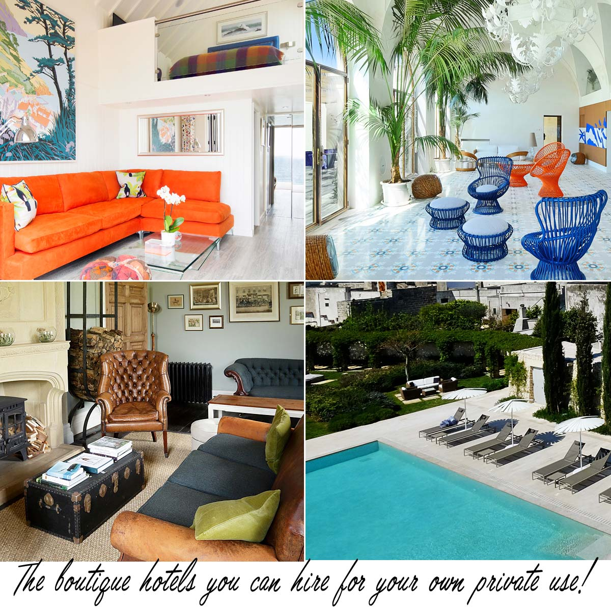 Boutique Hotels Ideal for House Parties & Exclusive Use Private Escapes 2