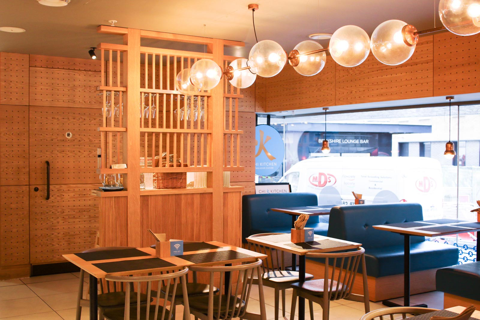 Chi Kitchen is a contemporary pan-Asian restaurant created as an exclusive departmental brand for Debenhams Oxford Street