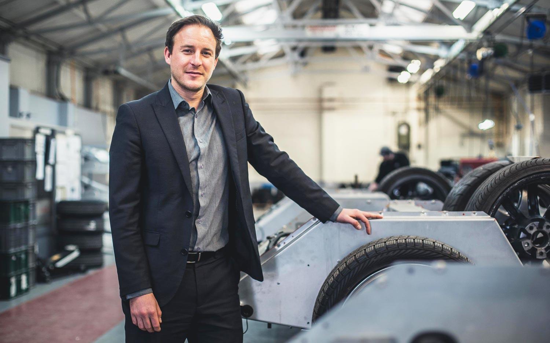 Colin Boden Group Financial Director Morgan Motor Company