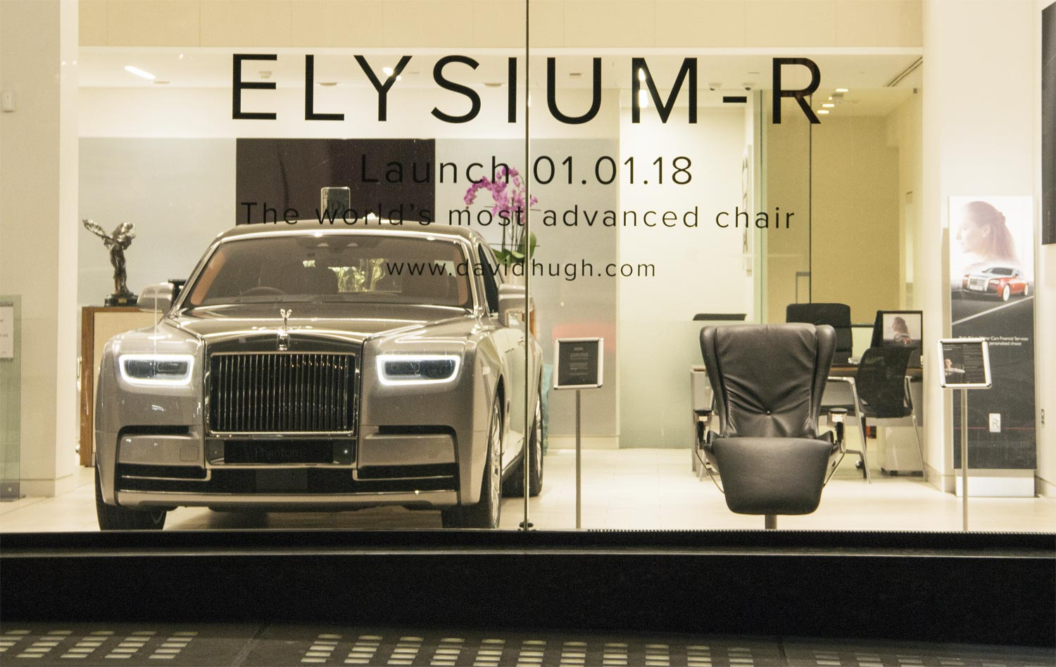 Elysium-R, the Roll-Royce of Chairs Comes to the Heart of London 4
