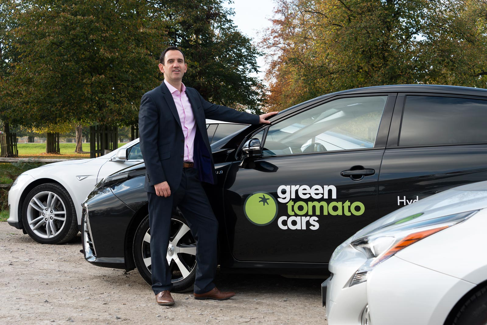 Jonny Goldstone MD and Original Co-Founder of Green Tomato Cars