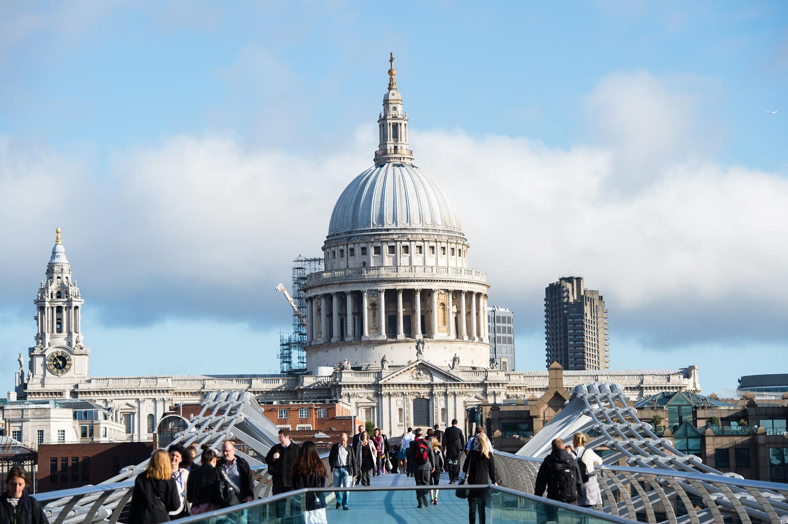The Vintry & Mercer Hotel is a hort walk from St. Paul's Cathedral
