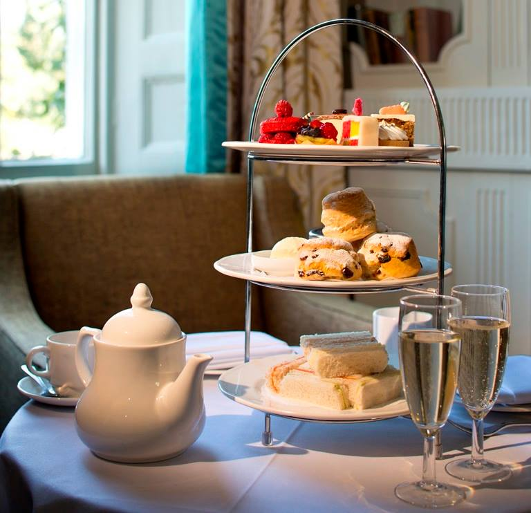 A Champagne afternoon tea