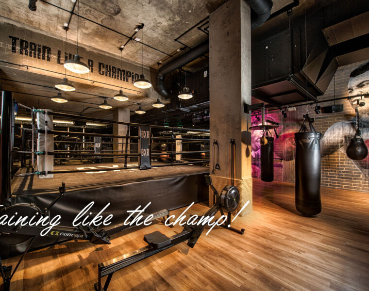 Getting Hot and Sweaty at High-End Boxing Gym BXR London