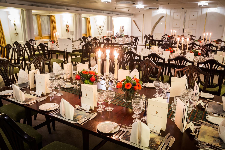 Kilts & Kisses - An Extraordinary Burns Supper on the Royal Yacht Britannia 8