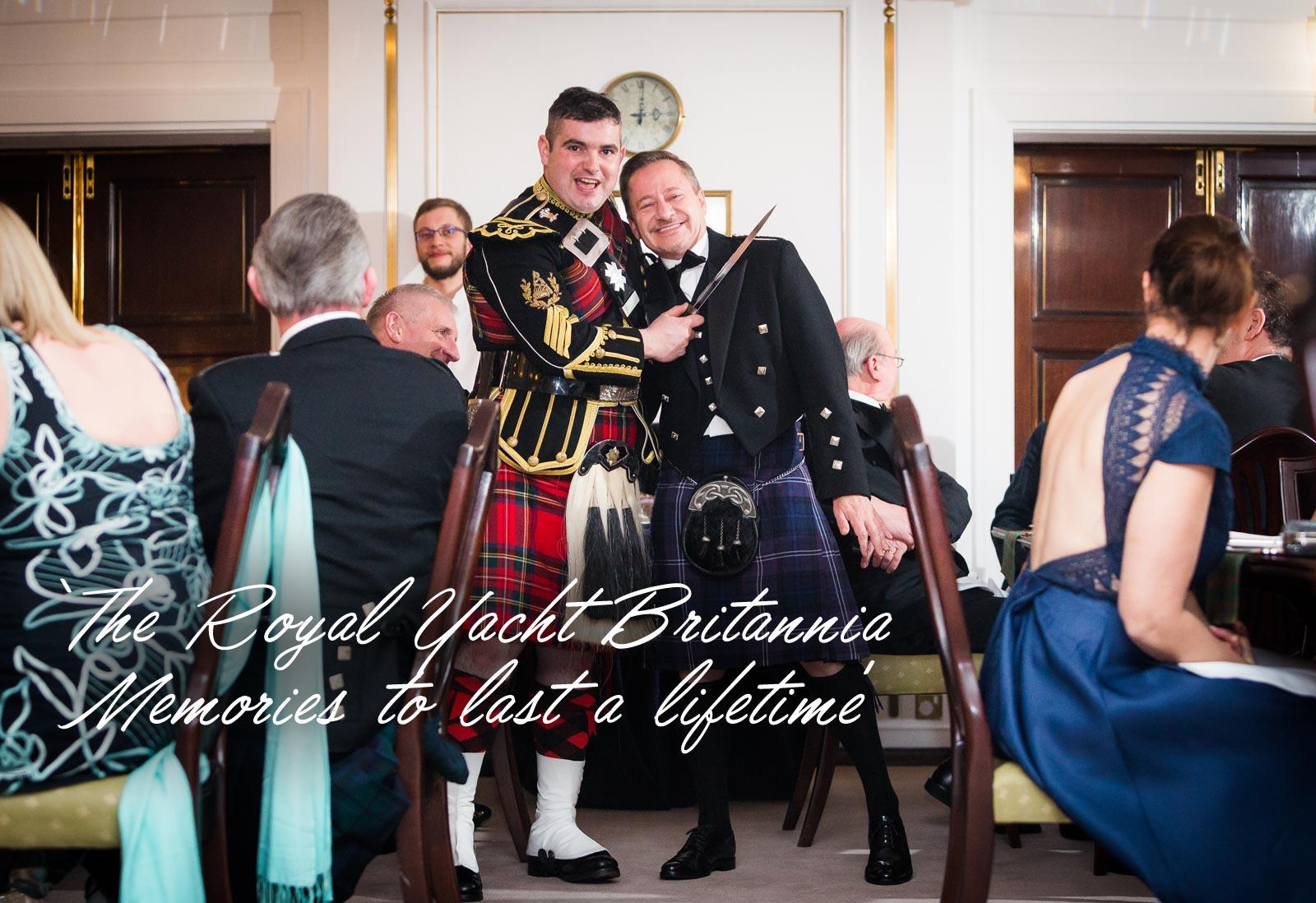 Kilts & Kisses - An Extraordinary Burns Supper on the Royal Yacht Britannia