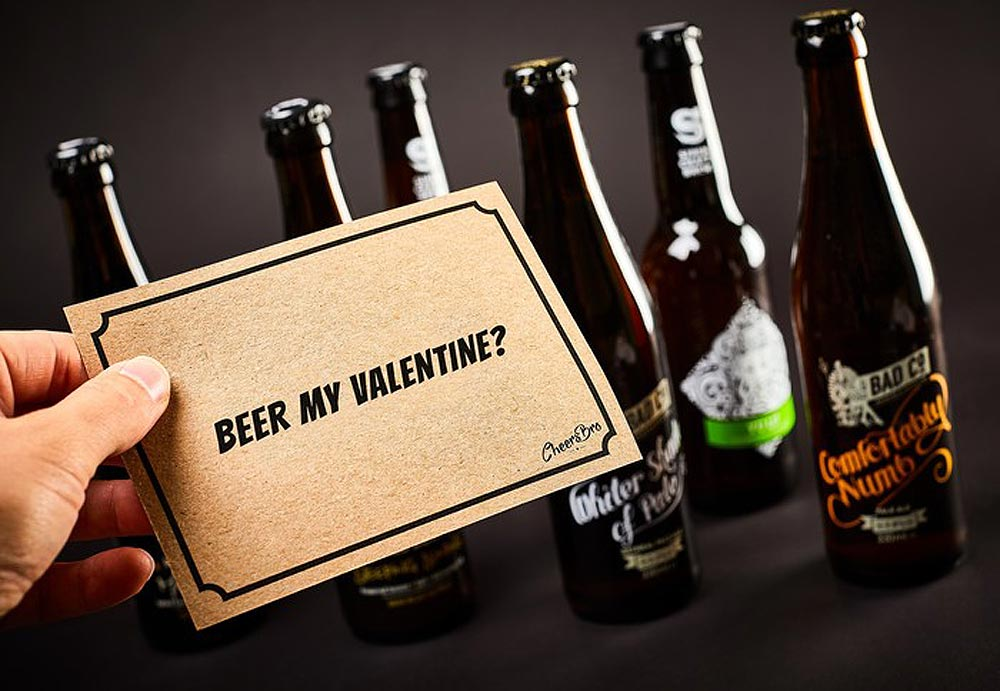 Valentine's Day Gets a Boozy Makeover with Craft Beer Gifting Service
