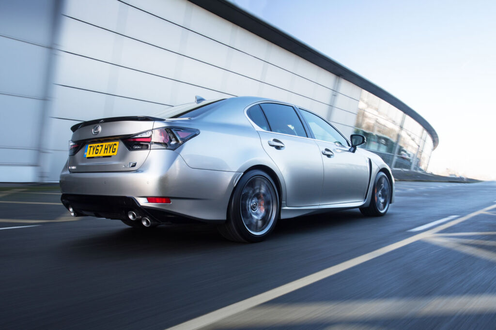 Luxurious Magazine Road-Tests a £74,000+ Lexus GS F in the South-West 6