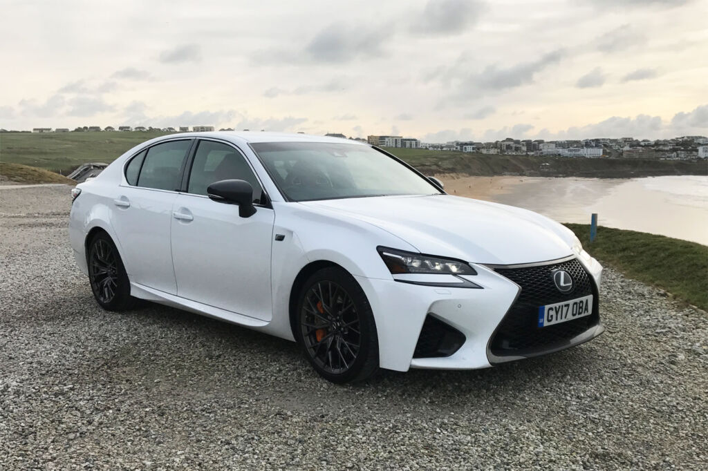Luxurious Magazine Road-Tests a £74,000+ Lexus GS F in the South-West 9