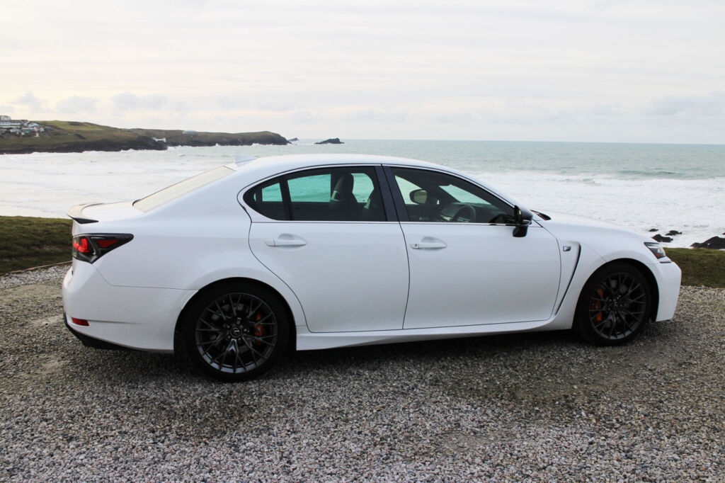 Luxurious Magazine Road-Tests a £74,000+ Lexus GS F in the South-West 10
