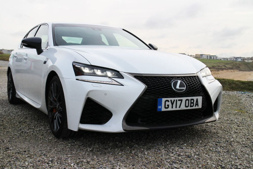 Luxurious Magazine Road-Tests a £74,000+ Lexus GS F in the South-West 12