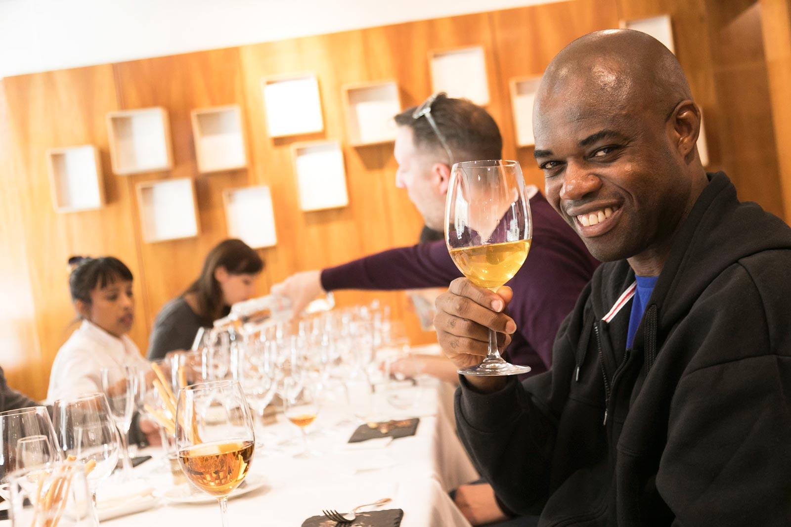 Wine Tasting in Madrid on the Luxury Travel Advisors Chefs Table Tour