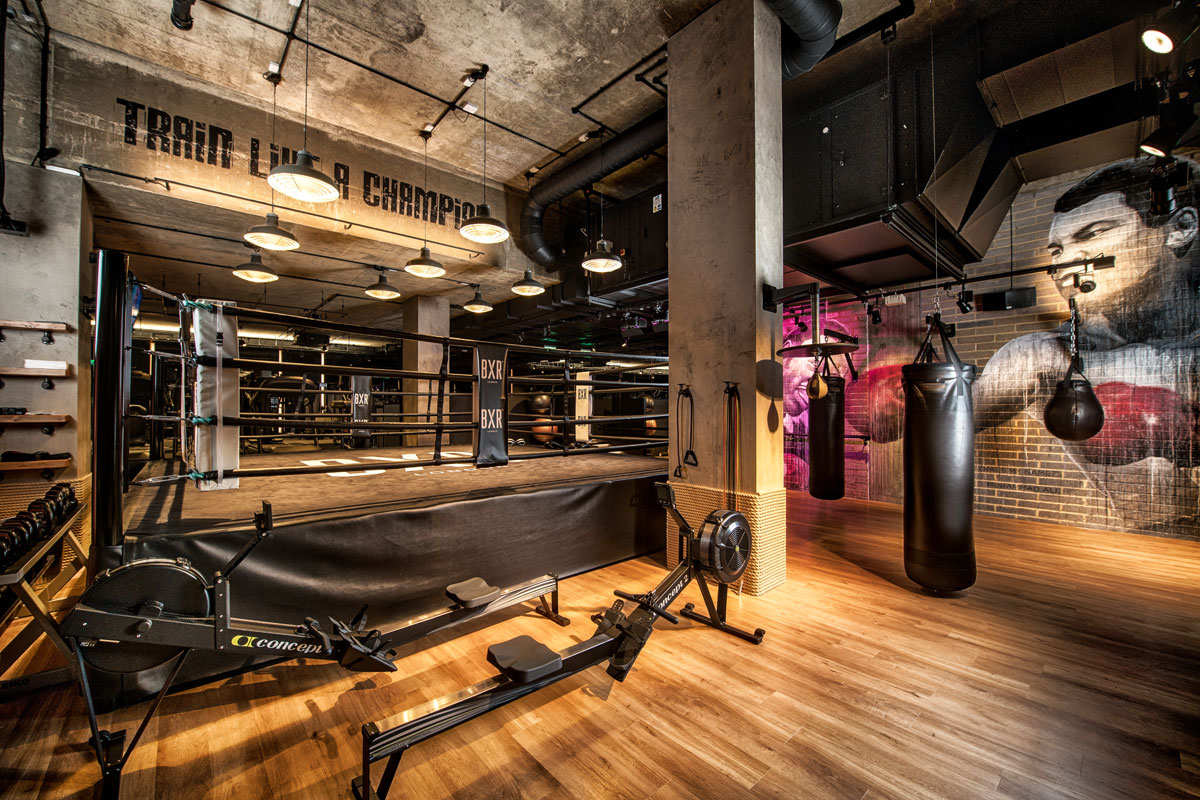 Review of BXR London the high-end boxing gym