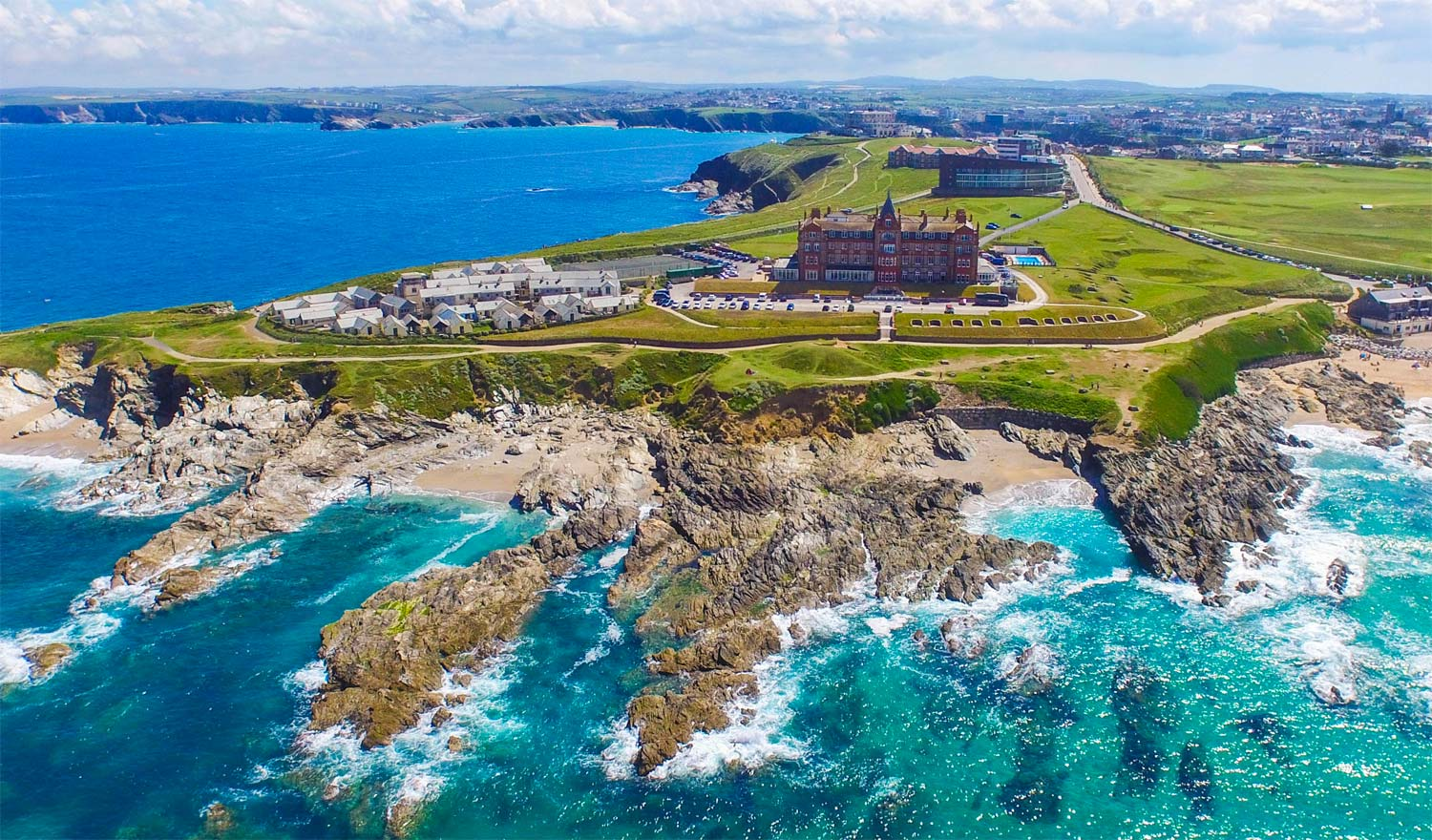 Luxury Spa At The Headland Hotel Newquay