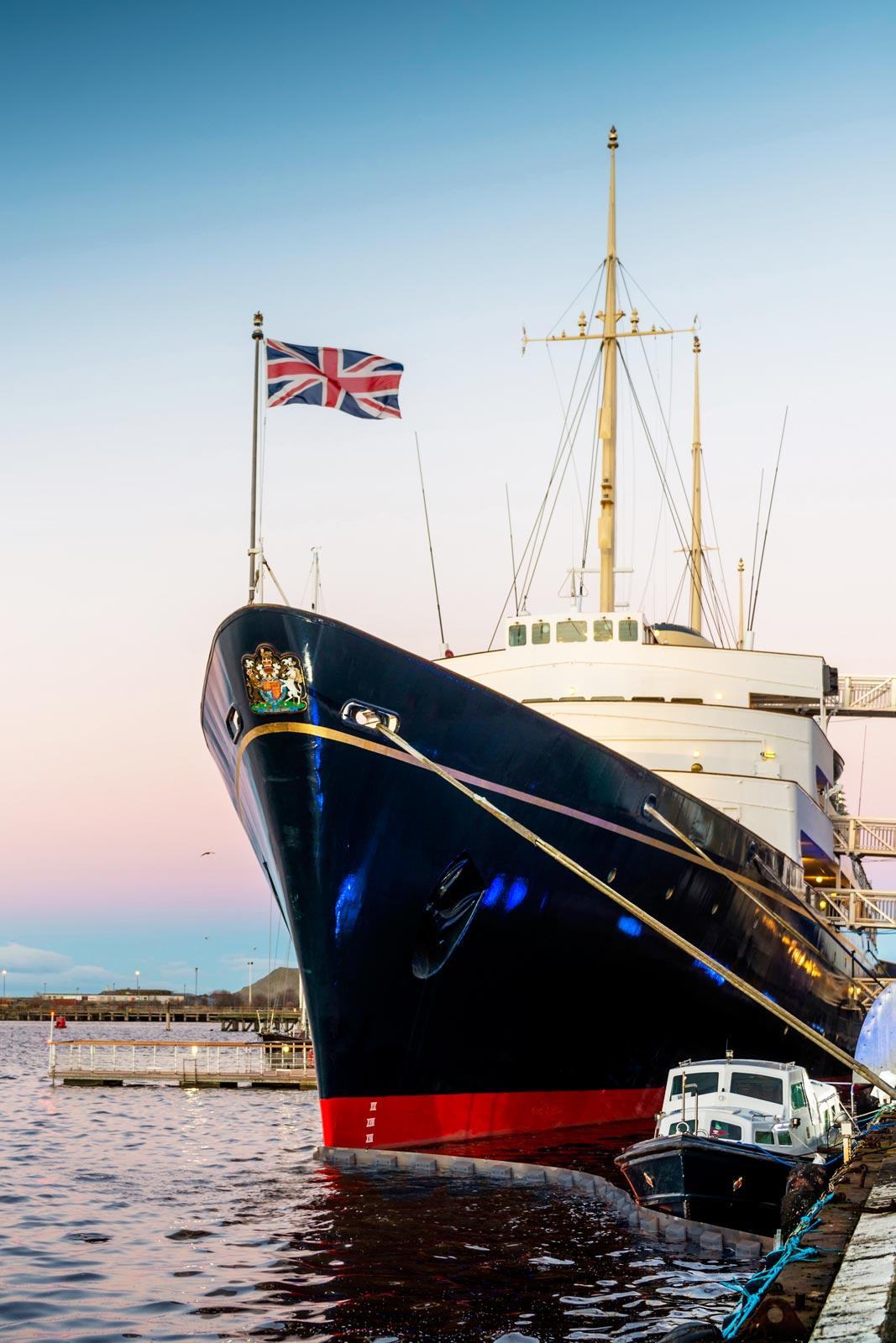 Kilts & Kisses - An Extraordinary Burns Supper on the Royal Yacht Britannia 5