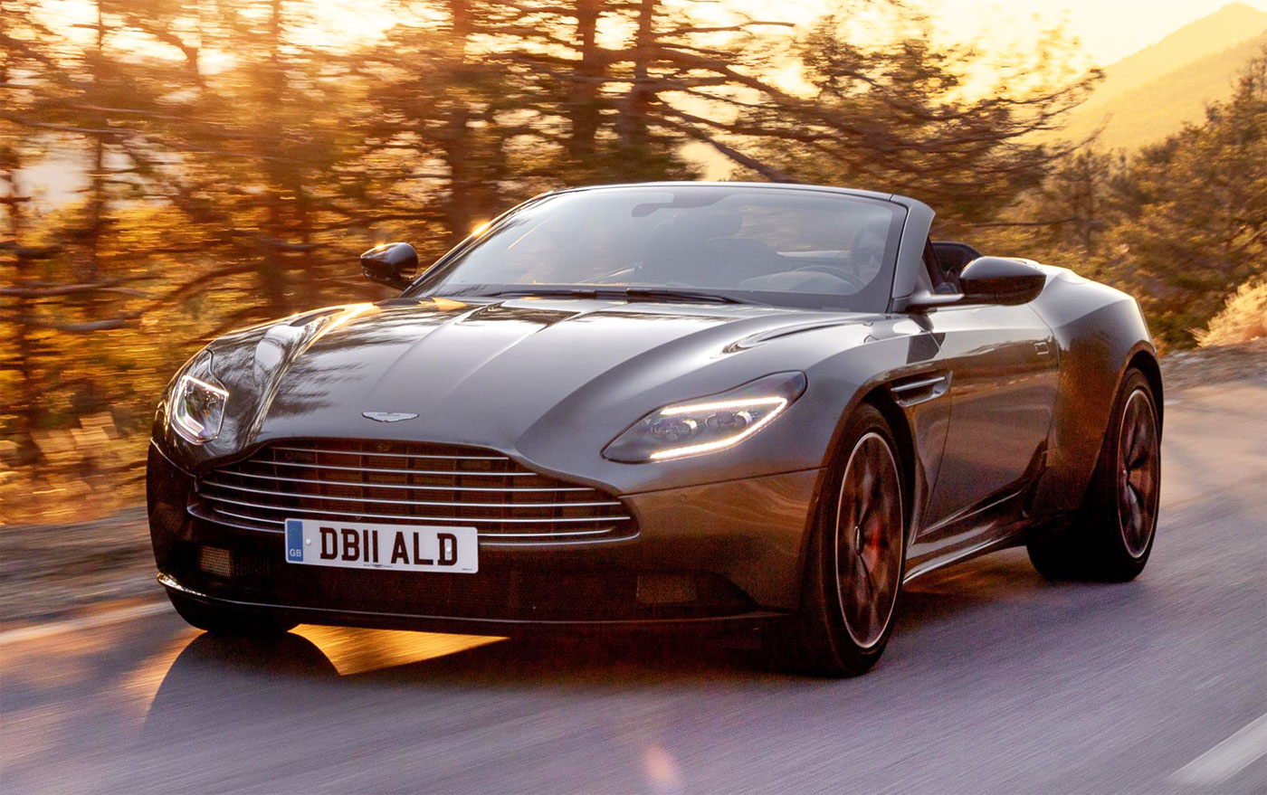 The Future's Looking Bright For Aston Martin Thanks to the DB11