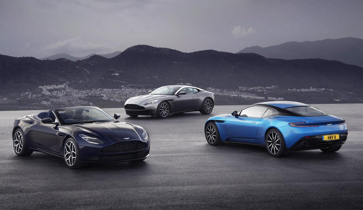 Aston Martin at the Geneva Motor Show