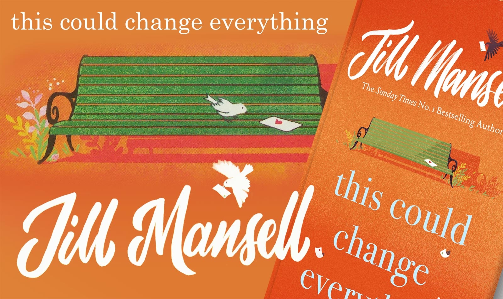 "A Generous Gift of Feel Good in Jill Mansell's New Book – ""This Could Change Everything"""