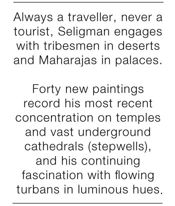 Lincoln Seligman Exhibition at Osborne Studio Gallery Belgravia 2018